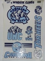 UNC Tar Heels NCAA University of North Carloina Decal Sheet 11x17 WinCraft  - $9.85