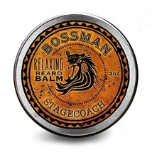 Bossman Relaxing Beard Balm - Nourish, Thicken and Strengthen Your Beard Stageco