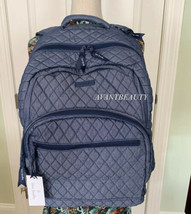 Vera Bradley MSRP $189  Essential Large Backpack/Laptop Bag, Moonlight B... - $120.00