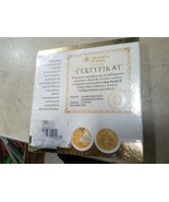JOHN PAUL II Jubilee 40th Anniversary Coin 24KT Gold Plated With book  - $47.45