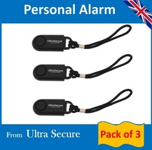 Personal Alarms (pack of 3) - $15.50
