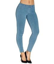 Hue Women's Super Smooth Denim Leggings, Night Wash, Small - $34.30