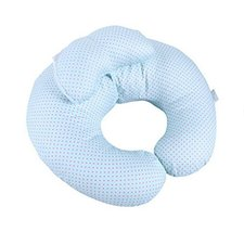 Multi-Function Postpartum Breastfeeding Cushion Blue Wave Point Feeding Pillow