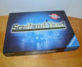 Ravensburger Scotland Yard Hunting Mister X Board Game 1997 Strategy Complete - $13.54