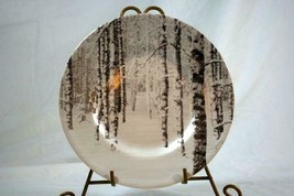 """Pier 1 Snow Frost Salad Plate 8 1/2"""" #420 - $15.93"""
