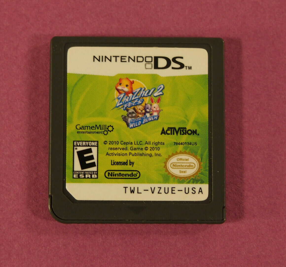 Primary image for Zhu Zhu Pets 2: Featuring the Wild Bunch (Nintendo DS, 2010) ~ Cart Only