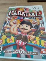 Nintendo Wii Carnival Games (no manual) image 1