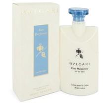 Bvlgari Eau Parfumee Au The Bleu by Bvlgari Body Lotion 6.8 oz for Women... - $40.73