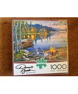Darrell Bush Lake Reflections Jigsaw Puzzle 1000 Pieces PreOwned Slightl... - $5.00