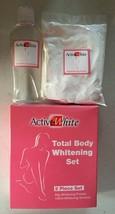 2 pc Active White ActiveWhite Total Body Whitening Set Bleaching Powder ... - $10.79