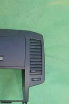 05-06 Nissan Altima Radio Dash Bezel w/ Heater AC Vents Glove Box Storage BLACK image 2
