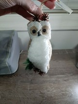Owl Ornament Christmas New - $18.57