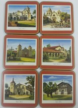 Pimpernel De Luxe Coaster Set of 6 North Americ... - $14.50