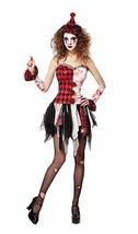 Giullare Donna Spaventosa, Donna, Halloween/Clown, Costume - $28.03