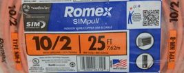 Romex 28829021 Ten 2 With Ground 25 Feet 600 Volts Indoor Wire NMB Cable image 4