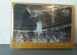 1997-98 Upper Deck Diamond Vision Latrell Sprewell Warriors - $9.47