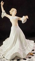 Wallendorf Porcelain Flamenco Dancer Figurine Lovely Young Lady Made in ... - $159.99