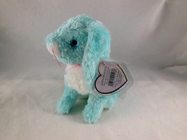 "TY Beanie Baby Rabbit SPRING the Aqua blue Bunny 5"" Mint with Tag ADORABLE! - $8.90"
