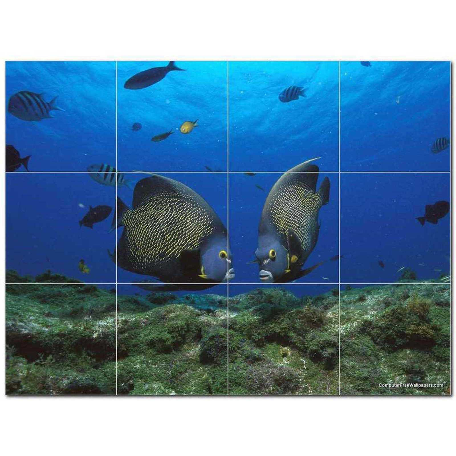 Primary image for Sealife Photo Ceramic Tile Mural Kitchen Backsplash Bathroom Shower BAZ405798