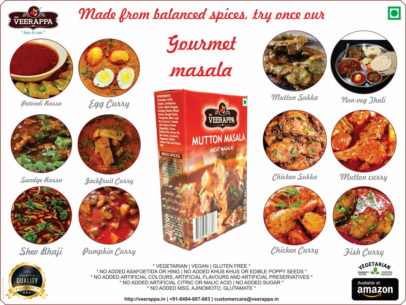 VEERAPPA Mutton (Meat) Masala 200g