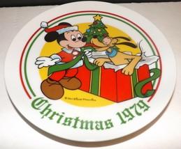 Schmid Walt Disney Character Christmas 1979 Collectors Plate - $22.20