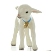 Hagen Renaker Miniature Lamb Large with Bell Ceramic Figurine image 3