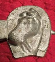 Rare Vintage Pewter Ice Cream Horse Head Mold - $49.50