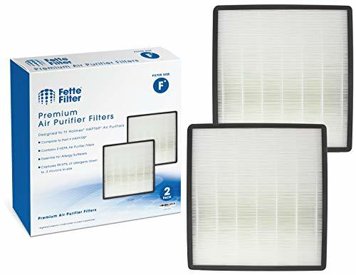 Fette Filter - Air Purifier True HEPA Filter F Compatible with Holmes HAP769. Co
