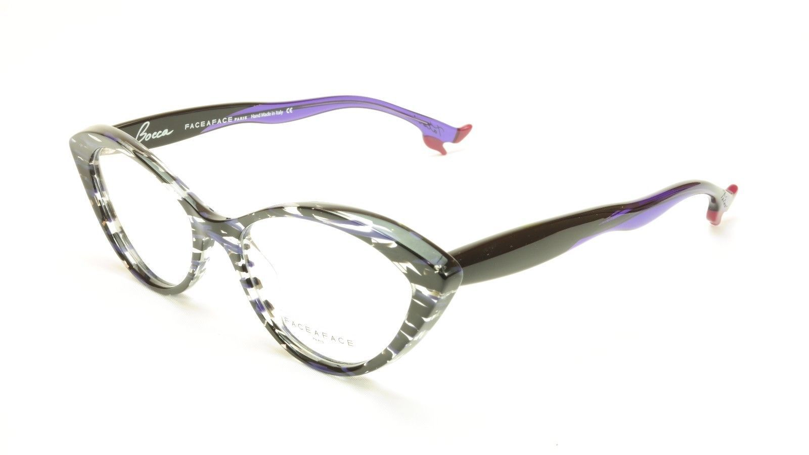 dd27ae7e251 Face A Face Bocca Tatoo 1 Col. 2014 Lines and Blue Light Eyeglasses Italy  Made