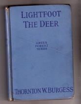 Thornton Burgess LIGHTFOOD THE DEER  Ex  4 glossy pics by Cady   1921 - $18.61
