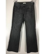 Women's White House Black Market Jeans Size 6R Black Embellished - $16.82