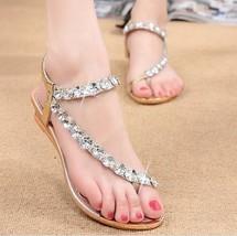 New Rhinestone Summer Fashion Women's Sandals 2016 Hotsales New Arrival Women's