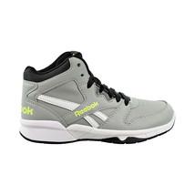 Reebok BB4500 Hi 2 Kids Basketball Shoes Grey-Neon Lime DV4180 - $44.95