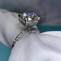 3ct Diamonique cz 925 Sterling silver Engagement Wedding Ring - $59.99