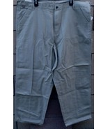 "Craftsman Canvas Carpenter Pants - Size: 44"" x 30"" - Khaki Color - BRAND... - $31.67"