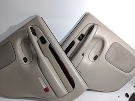 03- 06 Cadillac Escalade Driver/ Passenger Door Panel Trim Shale/Woodgrain - $248.39