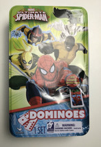 Marvel The Amazing Spider Man - 23  Dominoes Set w/ Tin Missing 5 Replac... - $7.92