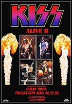 KISS Band ALIVE II L.A Forum Stand-Up Display - Concert Memorabilia Chea... - $16.99