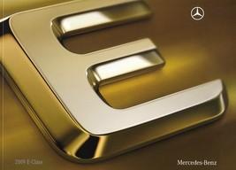 2009 Mercedes-Benz E-CLASS brochure catalog US 350 550 AMG - $8.00