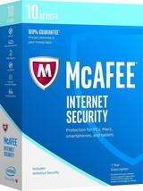 Original Retail box - McAfee Internet Security 2017(2018) 10 devices 1Yr - $11.29