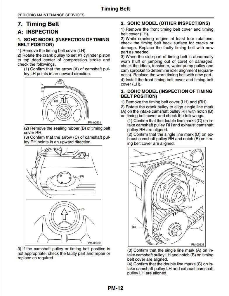 2013 subaru legacy repair manual