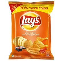 Lays Lay's West Indies' Hot 'n' Sweet Chilli 30 grams Pack 1.05 oz Potat... - $4.49+