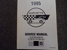1995 Chevrolet Chevy Corvette Servizio Riparazione Officina Shop Manuale... - $69.29