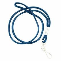 Swingline GBC ID Lanyard, Round Lanyard with Swivel Hook, BadgeMates, Bl... - $6.09
