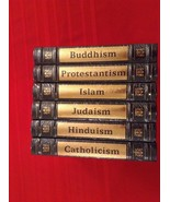 SEALED J Leslie Dunstan's World's Religions Complete in 6 Volumes Cathol... - $327.25