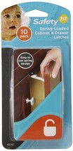 Safety 1st Spring n' Release Latches, 10 Pack - $7.43