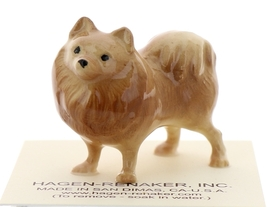 Hagen-Renaker Miniature Ceramic Dog Figurine Pomeranian image 1
