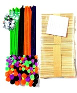 800 Pc Pipe Cleaners Crafting Kit for Kids + Guide Fun Creative Activiti... - $13.54