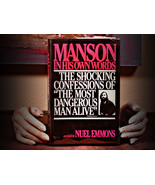 Manson In His Own Words (1986) - $14.95