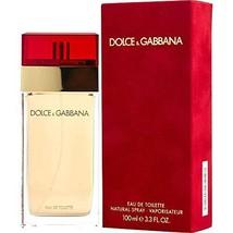 Dolce & Gabbana Pour Femme (Red) for Women Eau de Toilette Spray, 3.4 Oz - $115.63